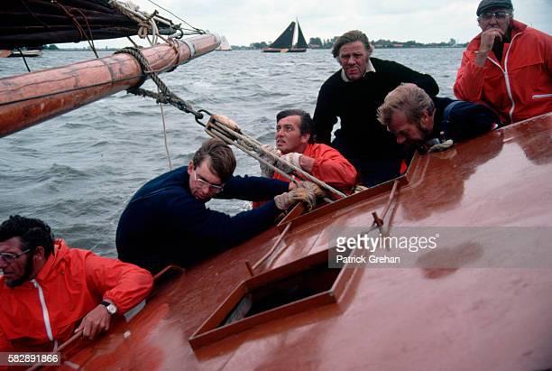 Skutsee Sailing in Friesland Holland