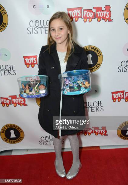 Sky Alexis attends The Couch Sisters 1st Annual Toys For Tots Toy Drive held onNovember 20 2019 in Glendale California