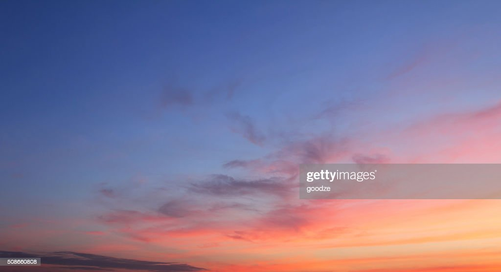 sky and cloud : Stock Photo