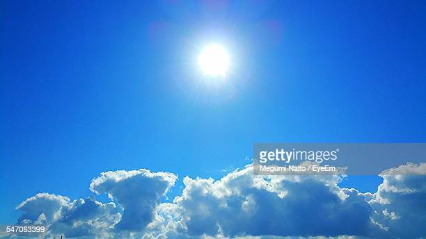 Sky And Clouds On Sunny Day