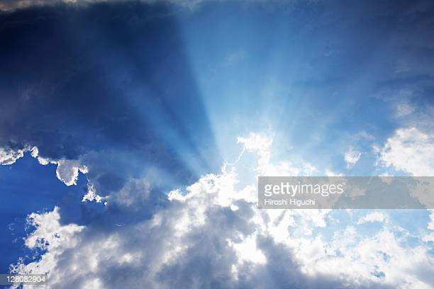 sky and clouds - elysium stock pictures, royalty-free photos & images