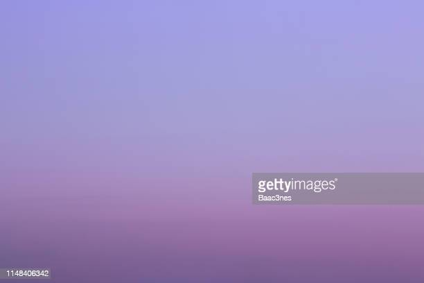 sky and clouds - purple sunset sky almost without clouds - purple sky stock pictures, royalty-free photos & images