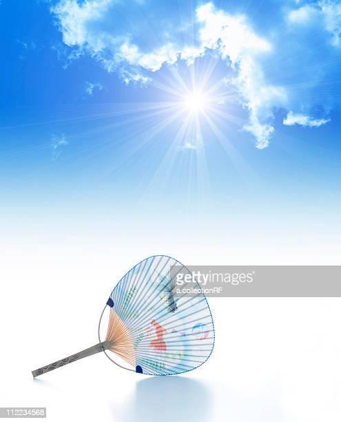 Sky and fan, Digital Composite