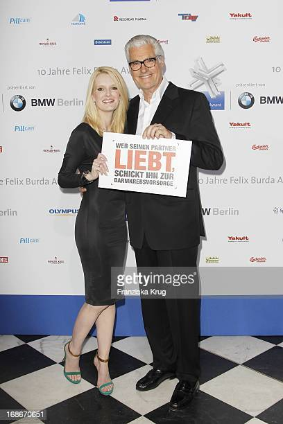 Sky And Mirja Du Mont at the 10th Anniversary Of The Felix Burda Award at Hotel Adlon in Berlin
