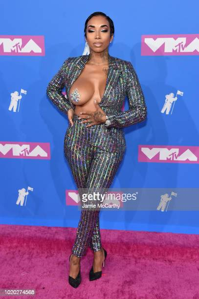 Sky attends the 2018 MTV Video Music Awards at Radio City Music Hall on August 20 2018 in New York City