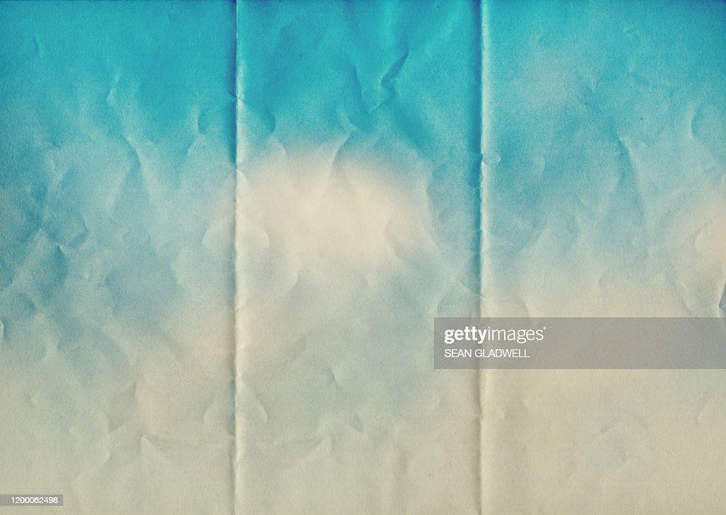Sky blue paper texture : ストックフォト