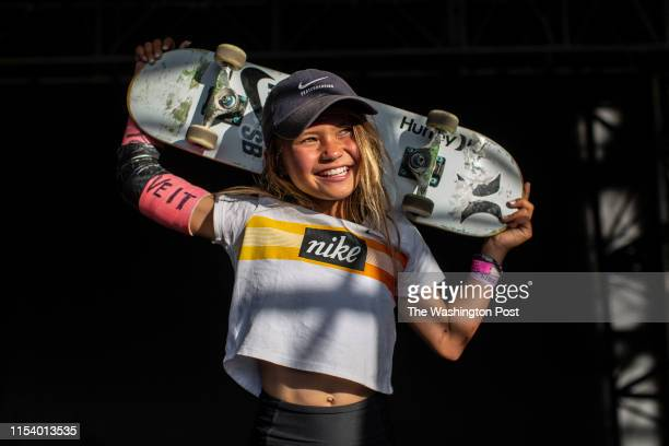 Sky Brown could become the youngest Olympian ever if she qualifies for skateboarding at the 2020 Olympics in Tokyo where should we could compete for...