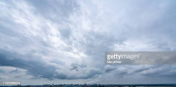 sky clouds - overcast stock pictures, royalty-free photos & images