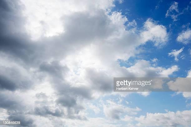 Sky, clouds, thundercloud, Cumulonimbus