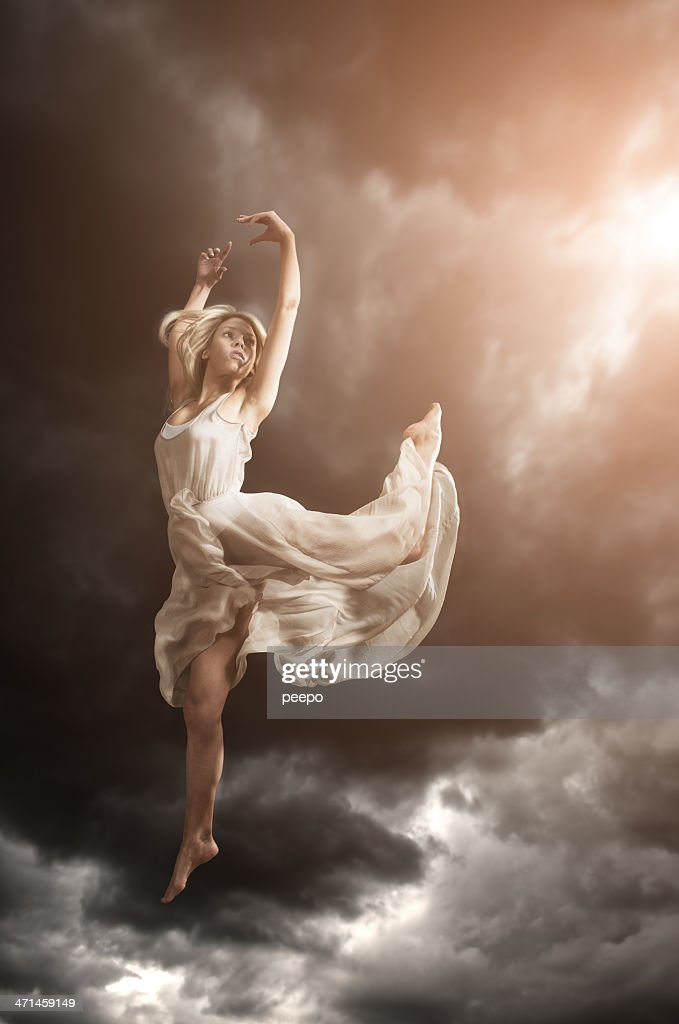 Sky Dancer : Stock Photo