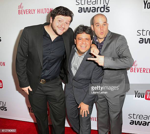 Sky Does Minecraft arrive at the Steamy Awards at The Beverly Hilton Hotel on October 4 2016 in Beverly Hills California