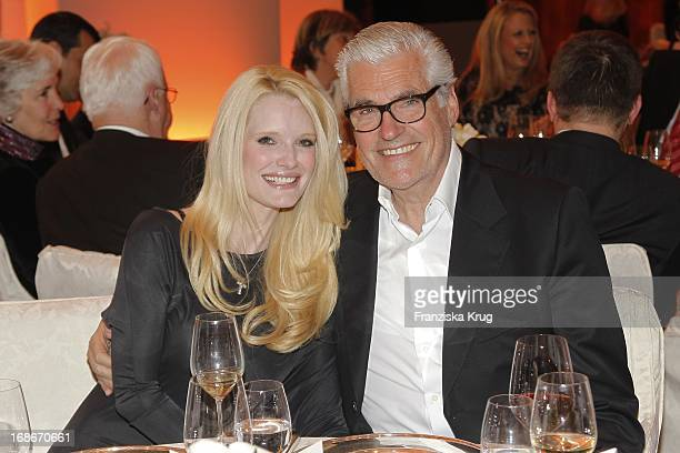 Sky Du Mont and wife Mirja at 10th Anniversary Of The Felix Burda Award Hotel Adlon in Berlin