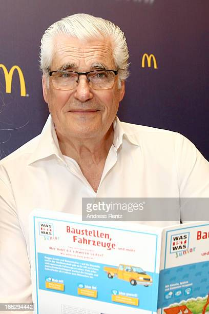 Sky Du Mont attends McDonald's Reading Event at McDonalds Kurfuersten Damm on May 8 2013 in Berlin Germany