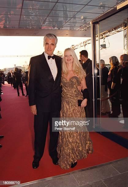 Sky Dumont Ehefrau Mirja Becker ZDFDeutscher Fernsehpreis 2000 Köln