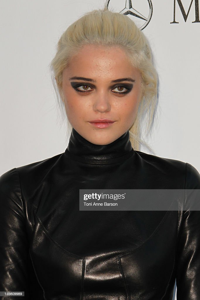 Sky Ferreira arrives at amfAR's Cinema Against AIDS at Hotel Du Cap on May 24, 2012 in Antibes, France.