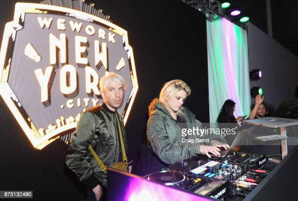 Sky Ferreira performs during WeWork Celebrates the New York Creator Awards at Skylight Clarkson Sq on November 16 2017 in New York City