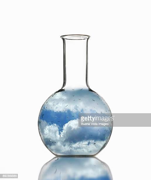 Sky in bottle.