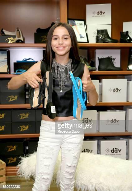 Sky Katz at Backstage Creations Celebrity Retreat at Teen Choice 2017 Day 1 at Galen Center on August 12 2017 in Los Angeles California