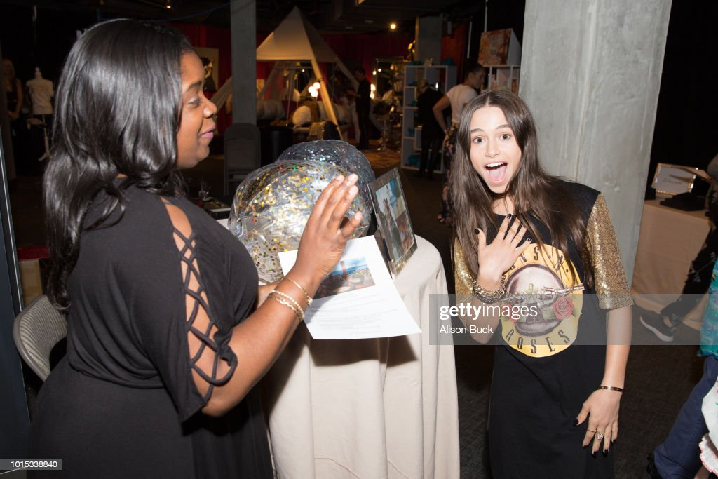 Backstage Creations Celebrity Retreat At Teen Choice 2018 - Day 1 : News Photo