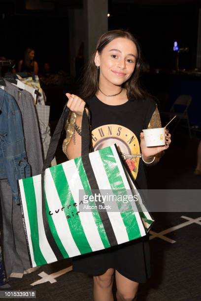 Sky Katz attends Backstage Creations Celebrity Retreat At Teen Choice 2018 Day 1 at The Forum on August 11 2018 in Inglewood California