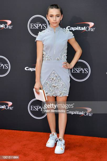 Sky Katz attends The 2018 ESPYS at Microsoft Theater on July 18 2018 in Los Angeles California