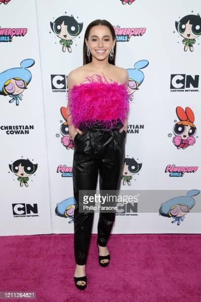 Sky Katz attends the 2020 Christian Cowan x Powerpuff Girls Runway Show on March 08 2020 in Hollywood California