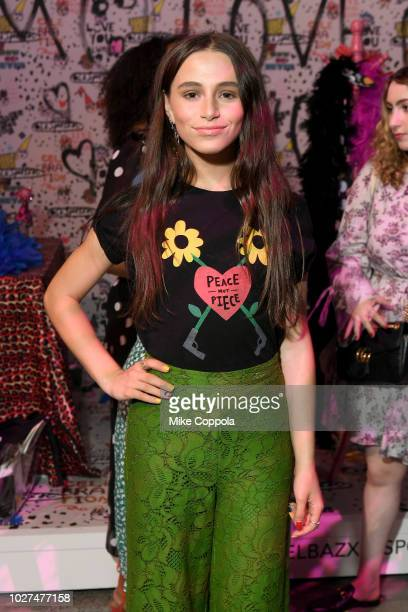 Sky Katz attends the Alber Elbaz X LeSportsac New York Fashion Week Party at Gallery I at Spring Studios on September 5 2018 in New York City