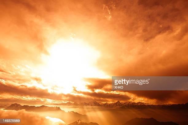 A luz do céu