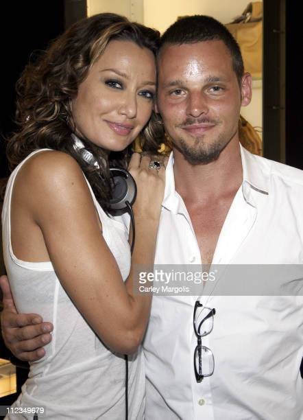 Sky Nellor and Justin Chambers of Grey's Anatomy