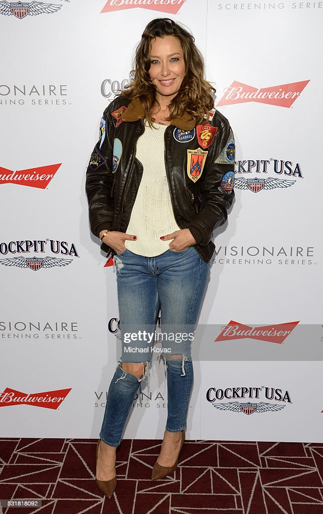 DJ Sky Nellor attends Cockpit USA & Budweiser Private 30th Anniversary Screening Of 'Top Gun' at The London Hotel on May 16, 2016 in West Hollywood, California.