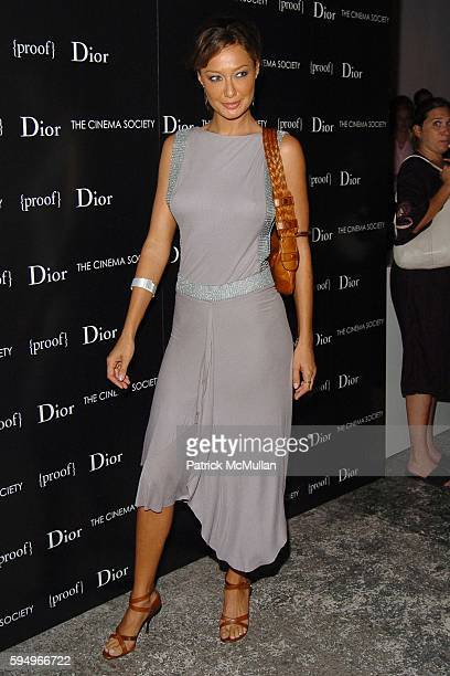 Sky Nellor attends DIOR THE CINEMA SOCIETY present a screening of Hart Sharp Entertainment Miramax Films' Proof at 165 Charles St on September 14...
