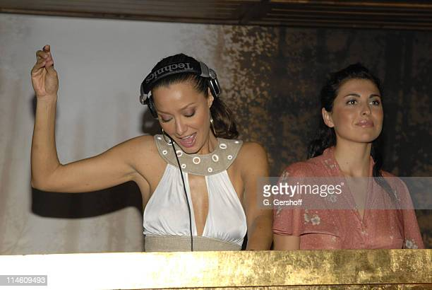 DJ Sky Nellor during Just Cavalli and Teen Vogue Host Fashion Fete To Celebrate Summer May 3 2006 at The Manor in New York City New York United States