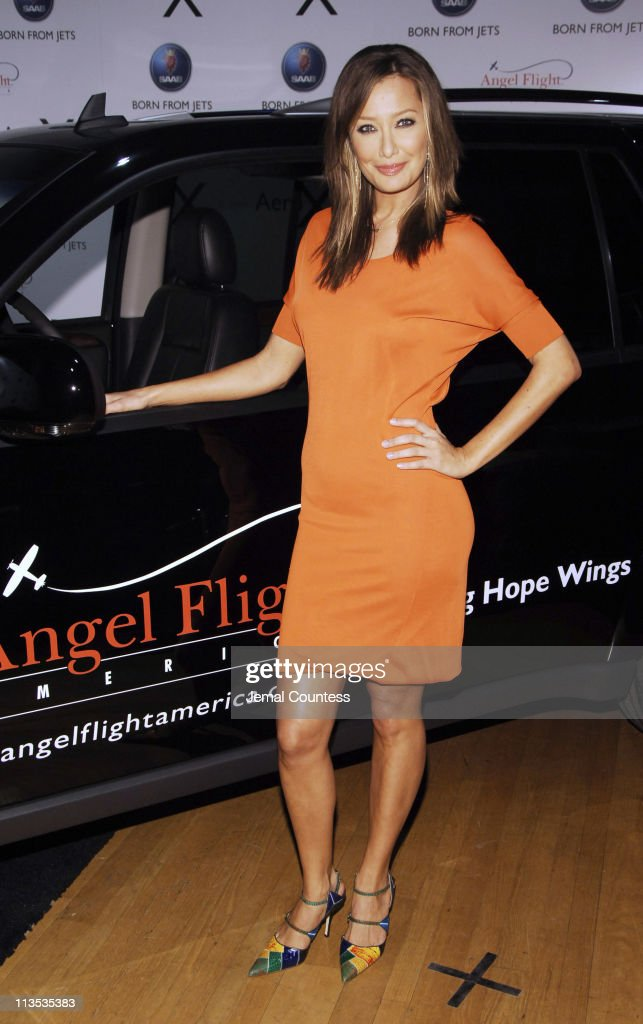 Sky Nellor during SAAB Introduces Their New Concept Vehicle The 'Aero X' and Announces Their Philanthropic Partnership With Angel Flight America at The Altman Building in New York City, New York, United States.