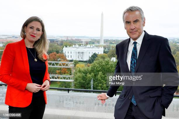 Sky News gears up to provide special coverage of the U.S. Election with a rehearsal, as Cordelia Lynch and Dermot Murnaghan prepare for the special...