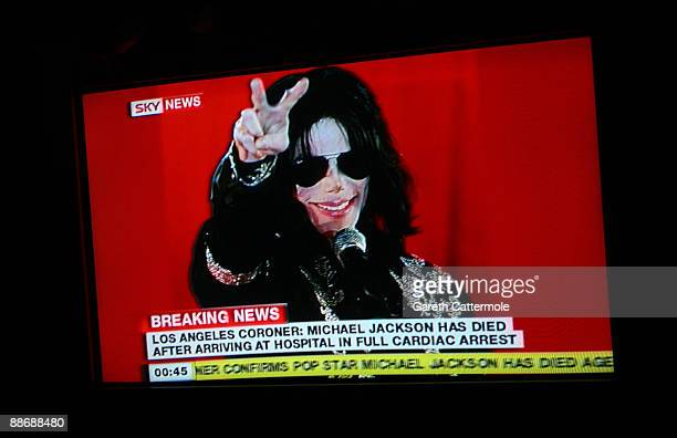 Sky News in the United Kingdom reports the news that Michael Jackson has passed away on June 26, 2009 in London, England. The iconic pop star was...