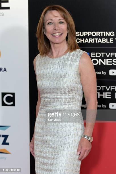 Sky News presenter Kay Burley at the Edinburgh TV Festival on August 23 2019 in Edinburgh Scotland