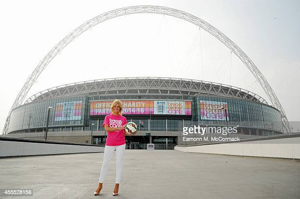 Sky News sports presenter Jacquie Beltrao launches The Football Association and Breast Cancer Care's official charity partnership for 201416 at...