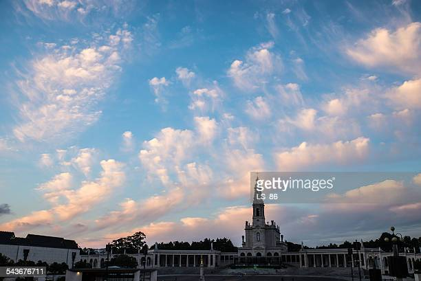 sky of fatima - fatima stock pictures, royalty-free photos & images