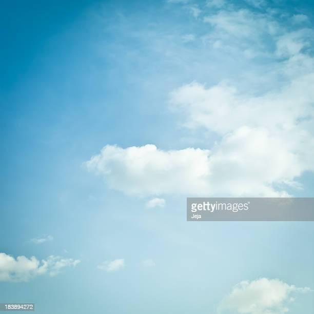 sky - céu claro - fotografias e filmes do acervo