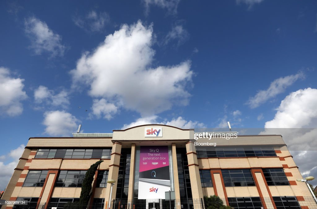 Sky Plc Ahead Of U.S. Media Giants Auction Battle For $36 Billion Pay-TV Firm