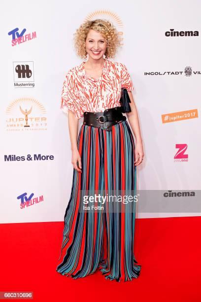 Sky presenter Aline von Drateln attends the Jupiter Award at Cafe Moskau on March 29 2017 in Berlin Germany