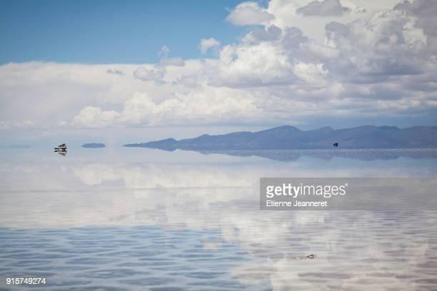 Sky Reflection, Uyuni, Bolivia