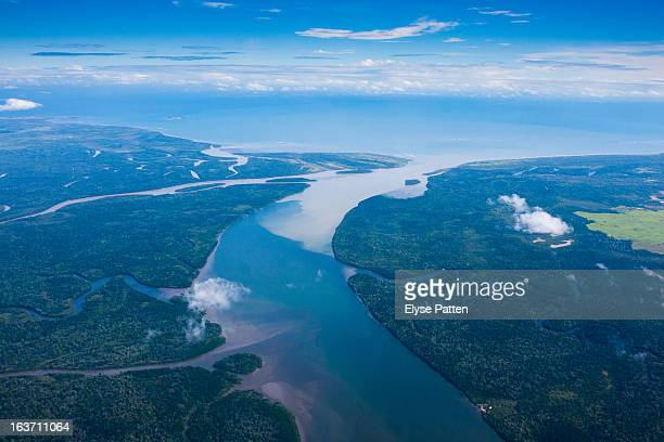 sky river - papua new guinea stock pictures, royalty-free photos & images