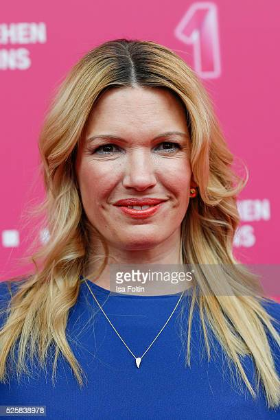 Sky sport moderator Jessica Kastrop attends the Telekom Entertain TV Night at Hotel Zoo on April 28 2016 in Berlin Germany