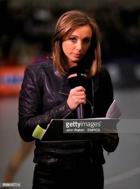 Sky Sports presenter Anna Woolhouse