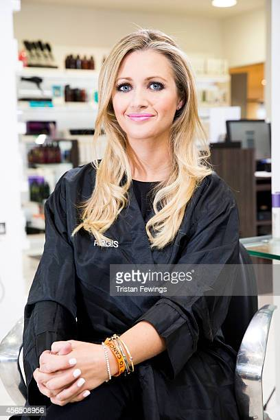 Sky Sports presenter Hayley McQueen has teamed up with Regis Salon to model the hairdressing and beauty brand's two charity hairstyles which will be...