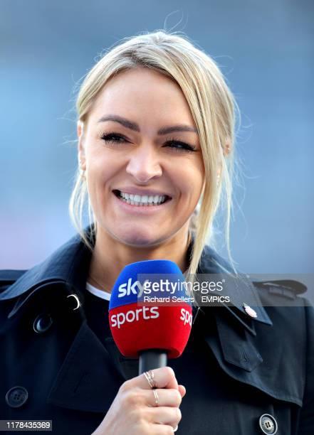 Sky Sports presenter Laura Woods Newcastle United v Wolverhampton Wanderers - Premier League - St. James' Park .
