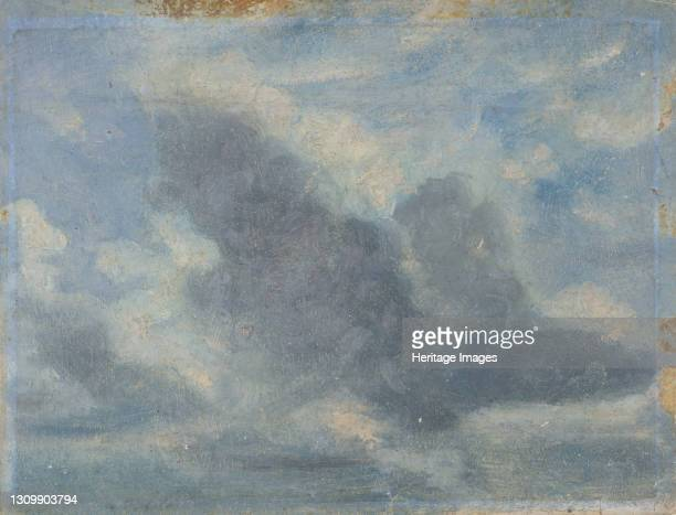 Sky Study;Sky Study with Clouds, ca. 1850. Artist Lionel Constable. .