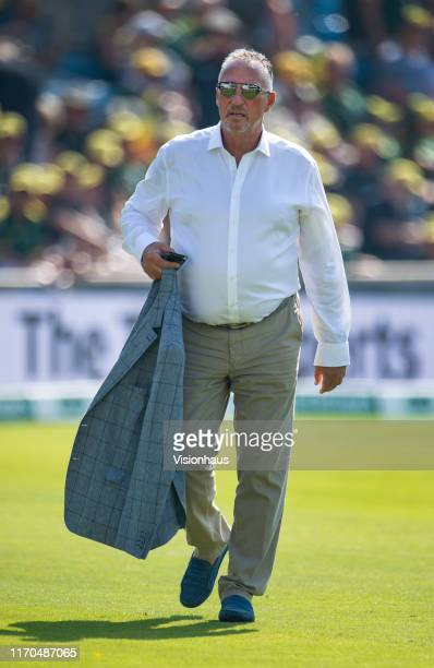 Sky TV presenter Ian Botham before day three of the 3rd Ashes Test match between England and Australia at Headingley on August 25, 2019 in Leeds,...