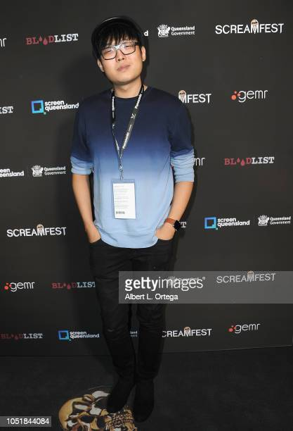 Sky Wang arrives for the Screamfest LA Opening Night Screening Of 'The Amityville Murders' at TCL Chinese 6 Theatres on October 9 2018 in Hollywood...